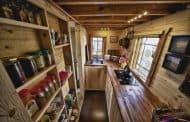 Casa de madera de 16m2