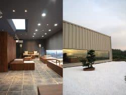 construcciones con contenedores, un hotel de lujo