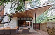Residencia Caruth: casa de lujo con LEED oro