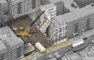 Broadway Stack: edificio prefabricado para apartamentos