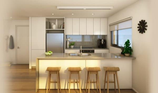 cocina-Forte-apartamentos-madera-Melbourne