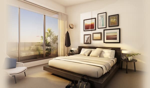 dormitorio-Forte-apartamentos-madera-Melbourne