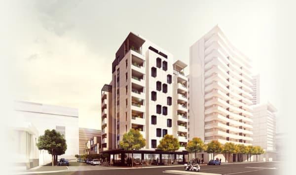 exterior-Forte-apartamentos-madera-Melbourne