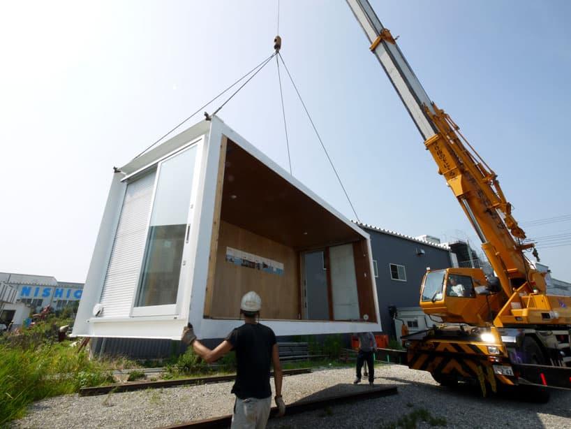 fotos y planos de la casa prefabricada del proyecto ex container. Black Bedroom Furniture Sets. Home Design Ideas
