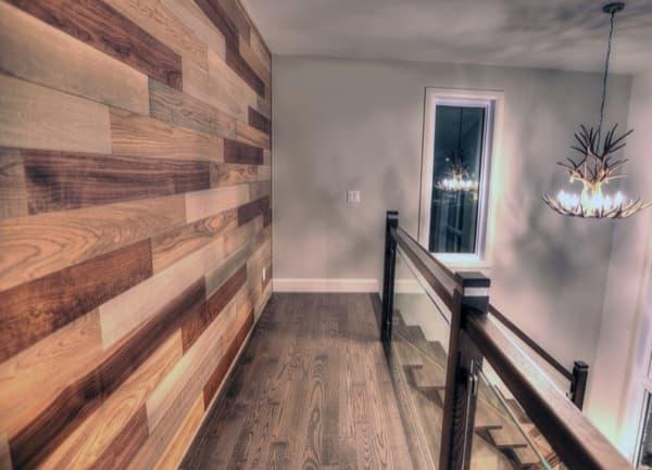 Friendlywall tableros de madera maciza para revestimiento interiores - Revestimiento madera paredes ...