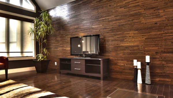 Friendlywall tableros de madera maciza para revestimiento interiores - Revestimiento pared interior ...