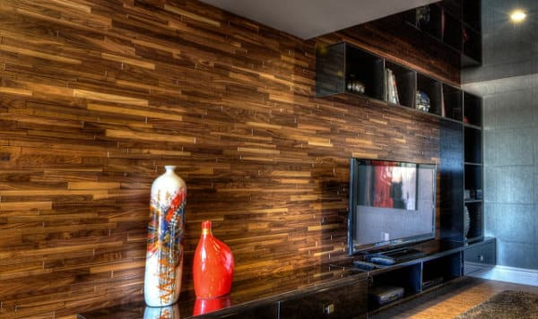 Friendlywall tableros de madera maciza para revestimiento Revestimiento de madera para muros interiores