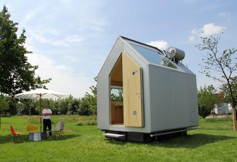 Di genes casa prefabricada m nima dise ada por renzo piano - Mini casas prefabricadas ...