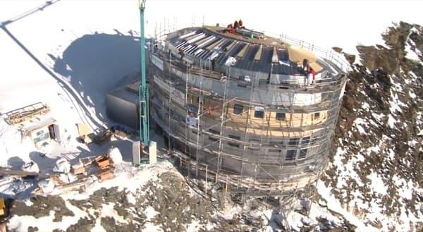 construccion-Refuge-Gouter
