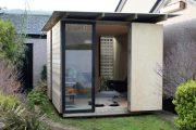 Mökki: estudios modulares para el jardín