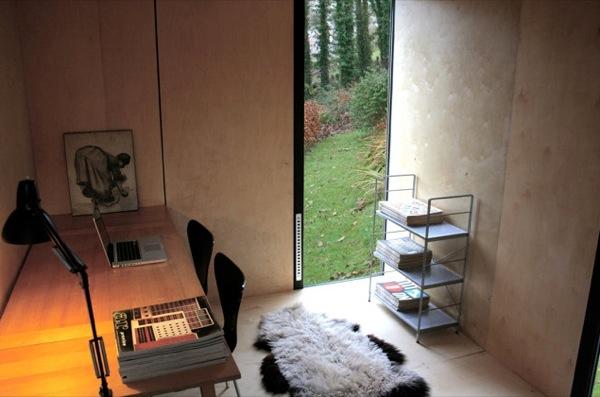 interior-escritorio-Mökki-caseta-prefabricada