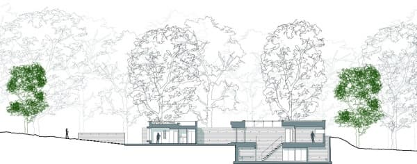 plano-seccion-New-Forest-House-casa-ecologica