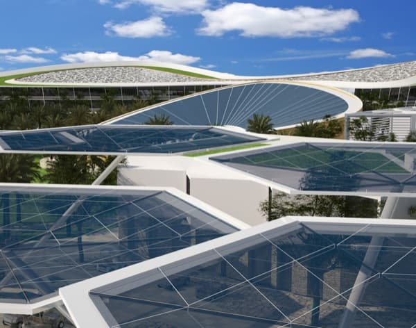 techos-solares-aparcamientos-Ciudad-Sostenible-Dubai