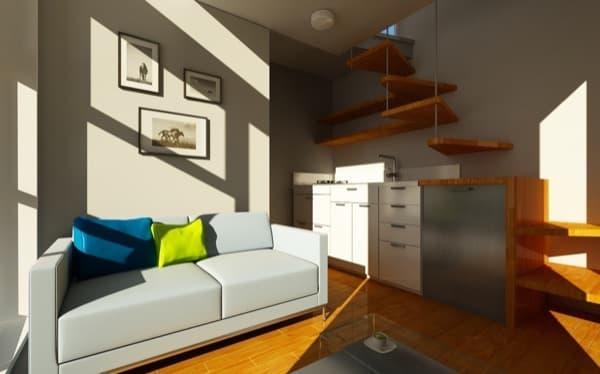 cocina-escalera-NOMAD-casa-prefabricada