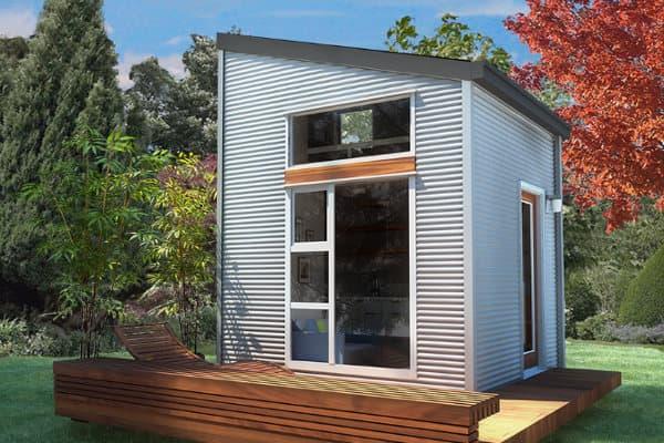 exterior-NOMAD micro casa prefabricada portatil