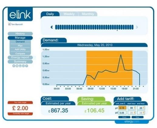 pantalla-demanda-diaria-software-elink-Efergy