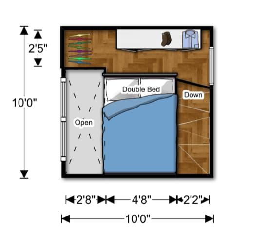 plano-planta-altillo-NOMAD-casa-prefabricada