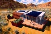 DesertSol: casa de energía cero preparada para el desierto