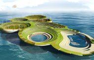 Ciudad ecológica en el mar