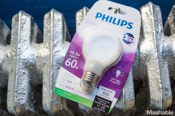 SlimStyle-bombilla-LED-Philips-envase