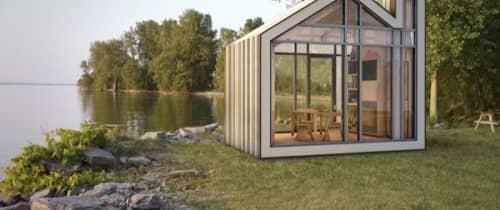 Casetas prefabricadas para utilizar como oficina en el jard n - Casetas prefabricadas para jardin ...