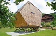 Ufogel: singular casa de madera