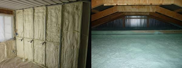 Cabaña Tin_CAN aislamiento espuma proyectada poliuretano