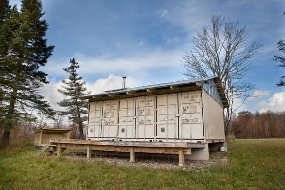 Cabaña Tin_CAN casa con contenedores