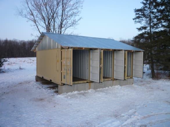 Cabaña Tin_CAN cubierta terminada