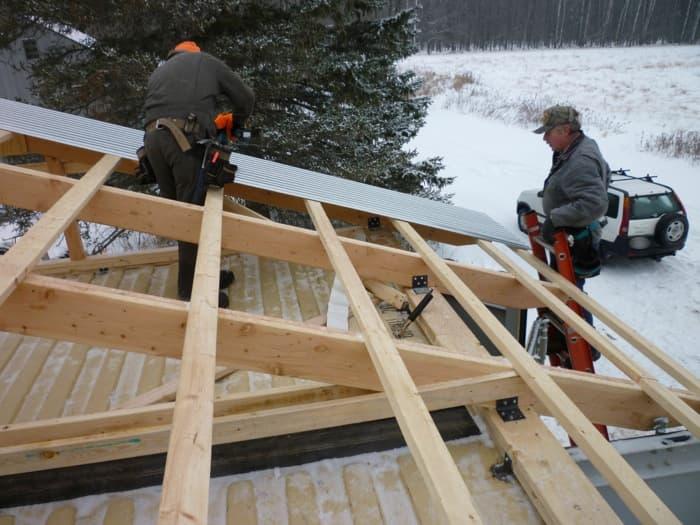 Construir una casa con contenedores tutorial detallado for Crear una cubierta de madera