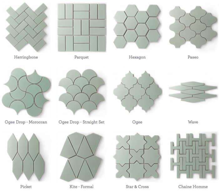 Azulejos con 70% de material reciclado