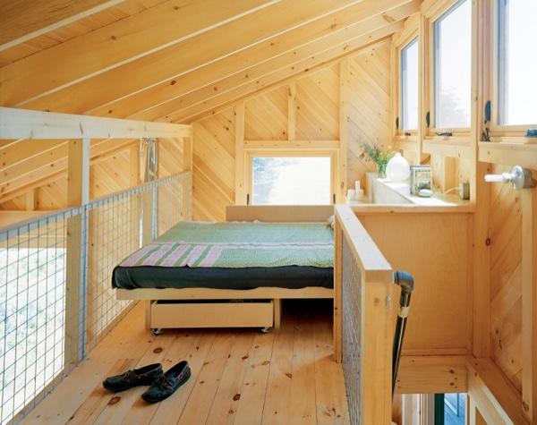 Cabaña-Porter-dormitorio-altillo