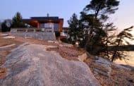 Casa del acantilado, por Altius Architecture