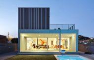 Casa Castaño: construcción prefabricada ajustada al cliente