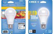 Bombillas LED de CREE, para sustituir a la de 100W
