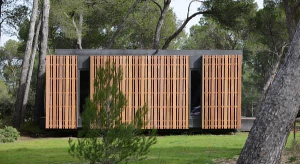 fachada-lateral Casa-Pasiva-sistema-popup-house