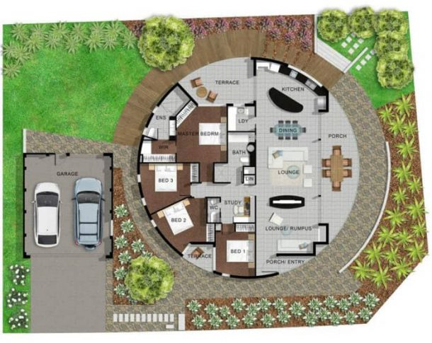 plano-planta-Girasole-House