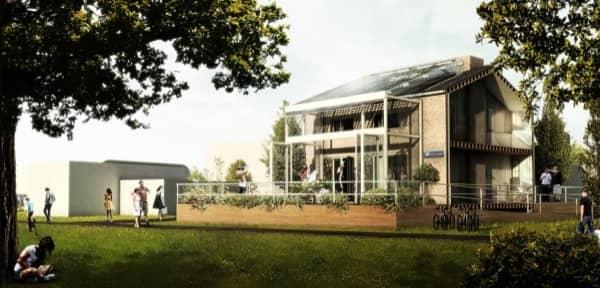 Pr t loger instalaci n fotovoltaica para casas adosadas for Arquitectura holandesa