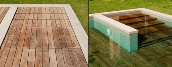 AGOR plataforma para piscina