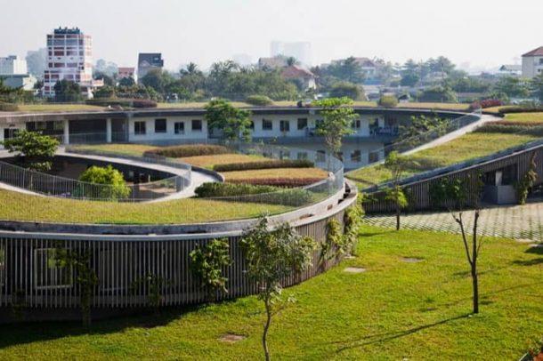 jardin-infancia-techo-verde