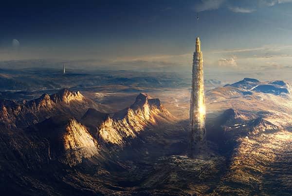 Launchspire: ciudad desarrollada en espiral