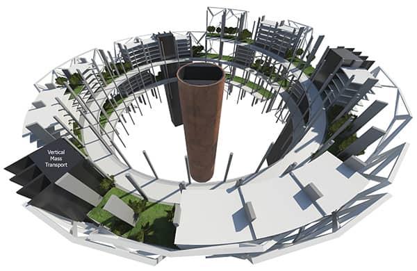 torre-Launchspire-calle-espiral