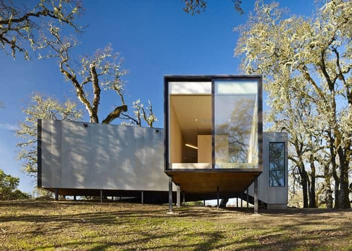 Residencia Moose Road: casa de campo de bajo coste