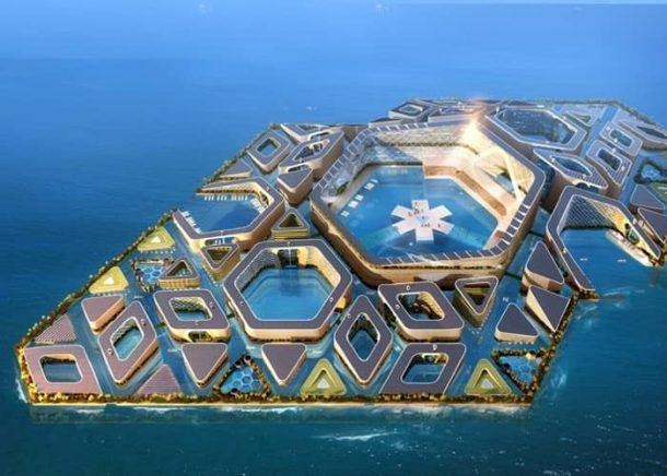 ciudad-flotante-modulos-prefabricados vista aérea