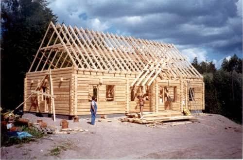 Ventajas de las casas prefabricadas de madera - Estructura casa madera ...