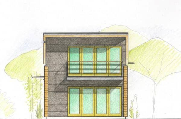 fachada-lateral-casa-prefabricada-LoftBox