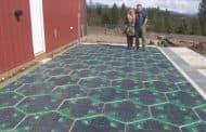 Carreteras solares con un pavimento fotovoltaico modular