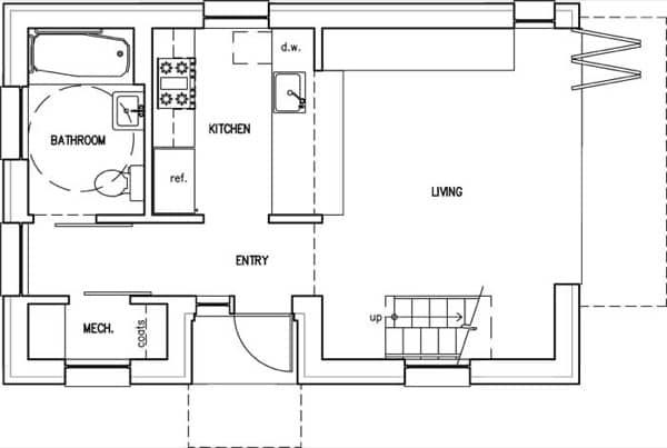 plano-planta-baja-casa-prefabricada-LoftBox
