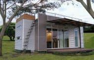 Casa-container prefabricada para ir de vacaciones