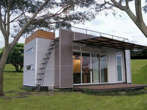 Casa Cúbica: proyecto prefabricado de casa-container